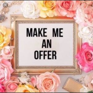 🌸🌸I Accept All Reasonable Offers🌸🌸